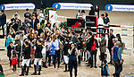 Guests attends the Public Walk Course prior to the Massimo Dutti Trophy during the Longines Hong Kong Masters 2015 at the AsiaWorld Expo on 15 February 2015 in Hong Kong, China. Photo by Juan Flor / Power Sport Images