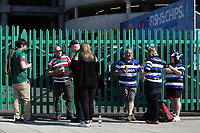 Supporters from both teams. The Clash, Aviva Premiership match, between Bath Rugby and Leicester Tigers on April 8, 2017 at Twickenham Stadium in London, England. Photo by: Rogan Thomson / JMP for Onside Images