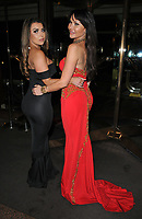 Abigail Clarke and Elizabeth &quot;Lizzie&quot; Cundy at the World Cancer Day Gala, Jumeirah Carlton Tower Hotel, Cadogan Place, London, England, UK, on Saturday 03 February 2018.<br /> CAP/CAN<br /> &copy;CAN/Capital Pictures