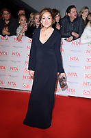 Charlotte Bellamy<br /> arriving for the National Television Awards 2018 at the O2 Arena, Greenwich, London<br /> <br /> <br /> ©Ash Knotek  D3371  23/01/2018