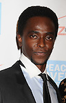 BEVERLY HILLS, CA - OCTOBER 28: Edi Gathegi arrives at Peace Over Violence 40th Annual Humanitarian Awards dinner at Beverly Hills Hotel on October 28, 2011 in Beverly Hills, California.