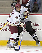 Brock Bradford, Tony Zancanaro  The Boston College Eagles defeated the Providence College Friars 3-2 in regulation on October 29, 2005 at Kelley Rink in Conte Forum in Chestnut Hill, MA.  It was BC's first Hockey East win of the season and Providence's first HE loss.
