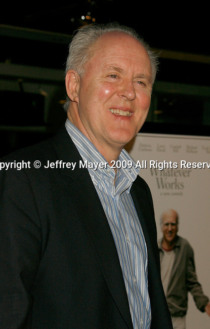 """WEST HOLLYWOOD, CA. - June 08: Actor John Lithgow  arrives at the Los Angeles premiere of """"Whatever Works"""" at the Pacific Design Center on June 8, 2009 in West Hollywood, California."""