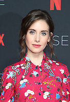 LOS ANGELES, CA - MAY 30: Alison Brie at the #NETFLIXFYSEE Glow Event at NETFLIX FYSEE Raleigh Studios in Los Angeles, California on May 30, 2018. <br /> CAP/MPIFS<br /> &copy;MPIFS/Capital Pictures