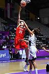 Moe Nagata (JPN), <br /> AUGUST 15, 2018 - Basketball : Women's Qualification round match between Hong Kong 44-121 Japan at Gelora Bung Karno Basket Hall A during the 2018 Jakarta Palembang Asian Games in Jakarta, Indonesia. <br /> (Photo by MATSUO.K/AFLO SPORT)