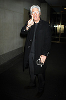 NEW YORK, NY - DECEMBER 19: Richard Gere at NBC'S Today Show in New York City. Credit: RW/MediaPunch Inc. /NortePHOTO