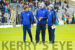Kerins O'Rahillys Management team Morgan Nix, Michael Quirke and Maurice Horan. South Kerry  v Kerins O'Rahillys in the Kerry Senior Football Championship Semi Final at Fitzgerald Stadium on Saturday.