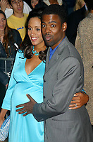 Chris Rock, wife Malaak Compton, 2002, Photo By John Barrett/PHOTOlink