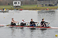 394 Cardiff Univ BC SEN.4x‐..Marlow Regatta Committee Thames Valley Trial Head. 1900m at Dorney Lake/Eton College Rowing Centre, Dorney, Buckinghamshire. Sunday 29 January 2012. Run over three divisions.