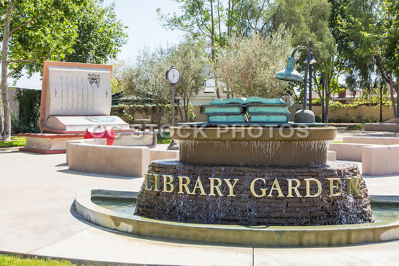 Bellflower Library Garden