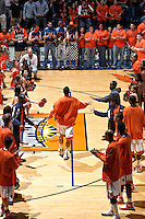 SAN ANTONIO, TX - JANUARY 26, 2008: The Texas State University Bobcats vs. The University of Texas at San Antonio Roadrunners Men's Basketball at the UTSA Convocation Center. (Photo by Jeff Huehn)