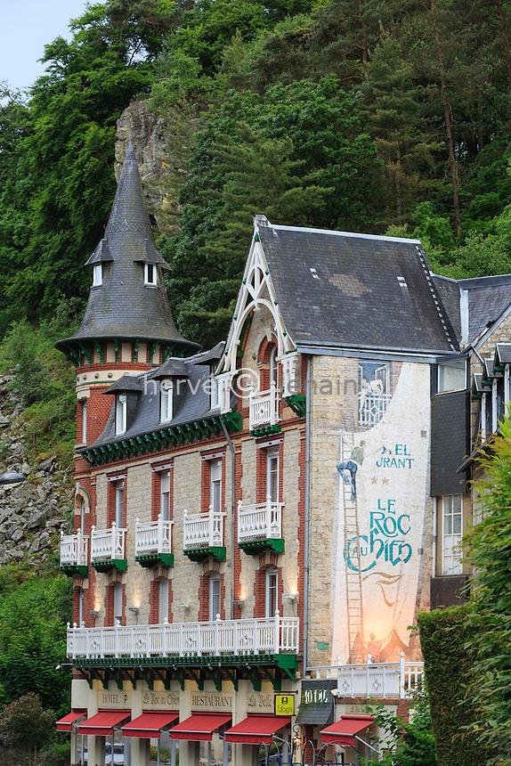 France, Orne (61), Bagnoles-de-l'Orne , l'Hôtel du Roc au Chien // France, Orne, Bagnoles de l'Orne, Roc au Chien Hotel
