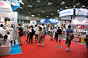 "September 5 2012, Japan - Visitors walk between halls at Gift Show exhibition. The 74th Tokyo International Gift Show brings together 2,400 companies including from China, South Korea, Taiwan and Hong Kong displaying the latest gifts and daily life products, in the biggest international trade show at Tokyo Big Sight. This year the theme of the exhibition is ""Proposing 2012 Future-oriented Relaxation Gifts"". (Photo by Rodrigo Reyes Marin/AFLO).."