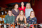 Enjoying a night out in Ristorante Uno<br /> Seated l to r: Mark Reidy, Julia O&rsquo;Connor and Eadaoin McGinley. Standing l to r: Rosie Tull, Eileen O&rsquo;Regan and Aine O&rsquo;Leary.