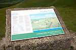 English Nature information panel at Roundway Hill, a special place for wildlife, near Devizes, Wiltshire, England