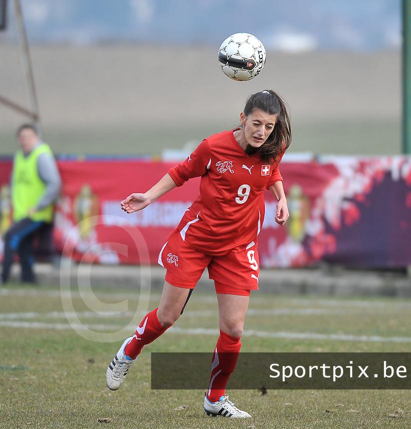Switzerland U19 - Russia U19 : Florijana Ismaili.foto DAVID CATRY / Nikonpro.be