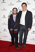 LOS ANGELES, CA - NOVEMBER 9: David Shapiro, Michael A. Pruss, at the Los Angeles Premiere of Come Swim at the Landmark Theater in Los Angeles, California on November 9, 2017. Credit: November 9, 2017.   <br /> CAP/MPI/FS<br /> &copy;FS/MPI/Capital Pictures