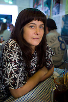 Annuska at the Ostra in the Condesa, Mexico City.