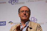 SAO PAULO, SP, 02 JUNHO 2013 - ENTREVISTA COLETIVA -PARADA DO ORGULHO GLBT - O governador  de São Paulo, Geraldo Alckmin,  durante a entrevista coletiva da 17 Parada do Orgulho LGBT no teatro Raul Cortez, na manhã  deste domingo, 02. (FOTO: ADRIANA SPACA / BRAZIL PHOTO PRESS).