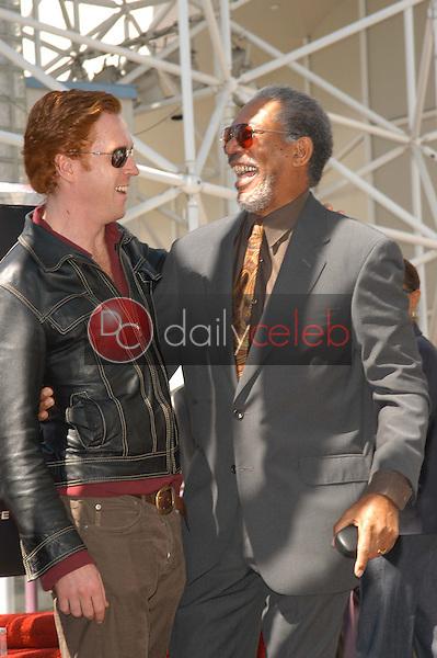 Morgan Freeman and Damian Lewis