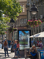 Fu&szlig;g&auml;ngerzone Knez Mihailova -Prinz-Michael-Stra&szlig;e, Belgrad, Serbien, Europa<br /> pedestrian area Knez Mihailova, Belgrade, Serbia, Europe