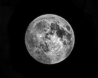 Taken from my back yard on the night before the Supermoon Eclipse