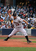 August 31, 2003:  Robert Marquez of the Indianapolis Indians during a game at Fifth Third Field in Toledo, Ohio.  Photo by:  Mike Janes/Four Seam Images