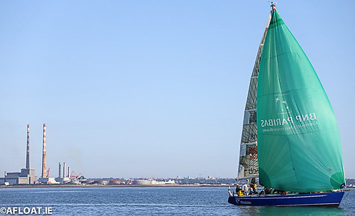 When John Harrington's IMX 38 Excession from Royal Ulster Yacht Club made theDun Laoghaire Harbourstart line in August, he became the firstNorthern Ireland yachtto compete inISORAracing in many years
