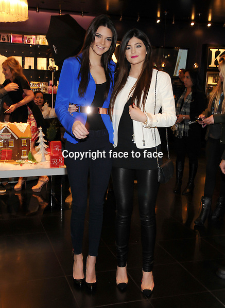 Kendall and Kylie Jenner appearance at Kardashian Khaos at the Mirage Hotel & Casino, Las Vegas, Nevada, 15.12.2012...Credit: MediaPunch/face to face..- Germany, Austria, Switzerland, Eastern Europe, Australia, UK, USA, Taiwan, Singapore, China, Malaysia and Thailand rights only -