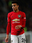 Manchester United's Mason Greenwood during the Premier League match at Old Trafford, Manchester. Picture date: 4th December 2019. Picture credit should read: Darren Staples/Sportimage