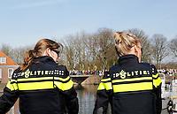 Nederland Brielle  2016 04 01. Vrouwelijke politie agenten in Brielle. Foto Berlinda van Dam - Hollandse Hoogte