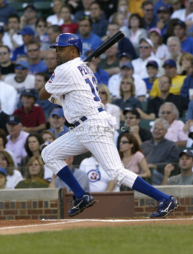 Neifi Perez during the Cubs v. Marlins game on September 10, 2004..Kevin Tanaka / SportPics