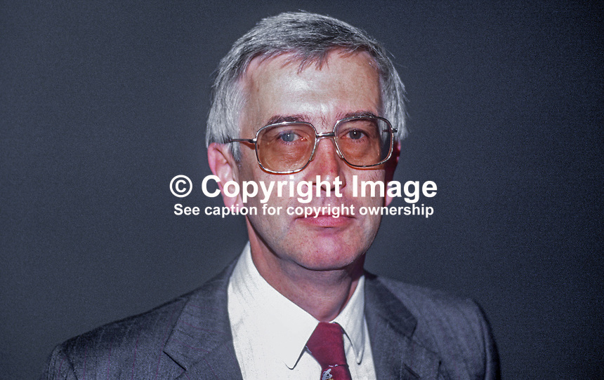 Leif Mills, general secretary, Banking, Insurance &amp; Finance Union, trade union, trade unionis, UK, 19860907LM2<br /> <br /> Copyright Image from Victor Patterson, 54 Dorchester Park, Belfast, UK, BT9 6RJ<br /> <br /> t1: +44 28 9066 1296<br /> t2: +44 28 9002 2446<br /> m: +44 7802 353836<br /> <br /> e1: victorpatterson@me.com<br /> e2: victorpatterson@gmail.com<br /> <br /> www.victorpatterson.com<br /> <br /> IMPORTANT: Please see my Terms and Conditions of Use at www.victorpatterson.com
