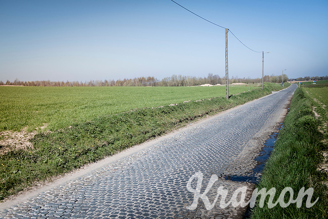 Empty Holle Weg on the Ronde van Vlaanderen race day<br /> <br /> Due to the international pandemic caused by the coronavirus COVID-19, the 104th Ronde van Vlaanderen, like all other Spring Classics in 2020, was canceled which left the race roads (as the rest of the country in lockdown) eerily empty on (what was the original) race day…<br /> <br /> (was supposed to be a) 1 day race from Antwerp to Oudenaarde (257km)<br /> <br /> ©kramon