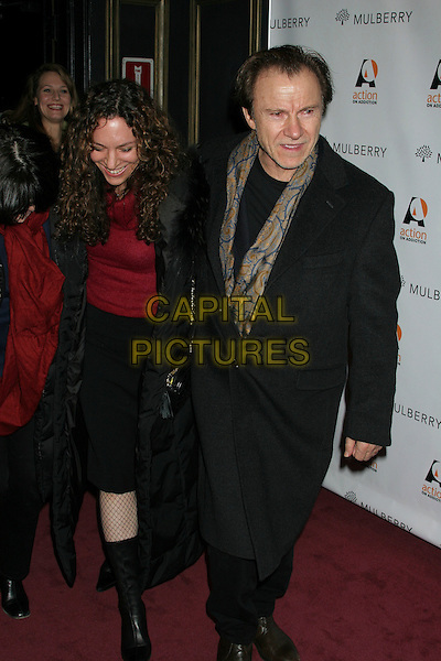 "HARVEY KEITEL & GUEST .""Gypsy of Chelsea"" Premiere at Studio 54 in New York.December 12th, 2005.Ref: IW.headshot portrait black coat.www.capitalpictures.com.sales@capitalpictures.com.©Capital Pictures"