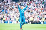 Real Madrid Keylor Navas  during Santiago Bernabeu Trophy match at Santiago Bernabeu Stadium in Madrid, Spain. August 11, 2018. (ALTERPHOTOS/Borja B.Hojas)