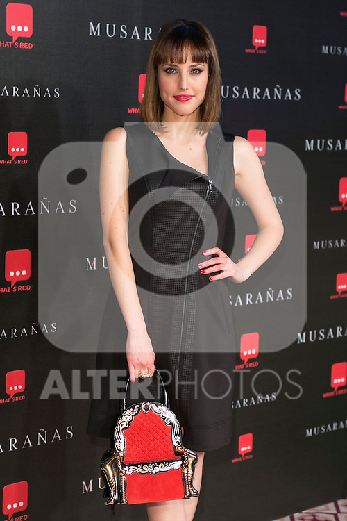 "Natalia De Molina attend the Premiere of the movie ""Musaranas"" in Madrid, Spain. December 17, 2014. (ALTERPHOTOS/Carlos Dafonte)"