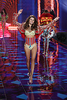 Izabeli Fontana on the runway at the Victoria's Secret Fashion Show 2014 London held at Earl's Court, London. 02/12/2014 Picture by: James Smith / Featureflash
