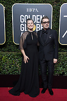 Gisele Schmidt and nominated for BEST PERFORMANCE BY AN ACTOR IN A MOTION PICTURE &ndash; DRAMA for his role in &quot;Darkest Hour,&quot; actor Gary Oldman arrive at the 75th Annual Golden Globe Awards at the Beverly Hilton in Beverly Hills, CA on Sunday, January 7, 2018.<br /> *Editorial Use Only*<br /> CAP/PLF/HFPA<br /> &copy;HFPA/PLF/Capital Pictures