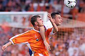 23/09/2000 Football League Division 3 Blackpool v Chesterfield<br /> <br /> 38189 Wellens action<br /> <br /> © Phill Heywood
