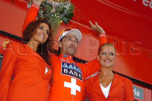 5th September 2009, Vuelta a Espana, stage 07 - Valencia, Saxo Bank, Cancellara Fabian, Valencia circuito F1. Photo: Stefano Sirotti/ActionPlus.