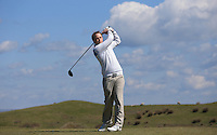 Chris Sturman during Round Two of the West of England Championship 2016, at Royal North Devon Golf Club, Westward Ho!, Devon  23/04/2016. Picture: Golffile | David Lloyd<br /> <br /> All photos usage must carry mandatory copyright credit (&copy; Golffile | David Lloyd)