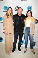 LOS ANGELES - FEB 5:  Chloe Bennet, Clark Gregg, Elizabeth Henstridge at the Disney ABC Television Winter Press Tour Photo Call at the Langham Huntington Hotel on February 5, 2019 in Pasadena, CA.<br /> CAP/MPI/DE<br /> ©DE//MPI/Capital Pictures
