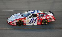 May 2, 2008; Richmond, VA, USA; NASCAR Nationwide Series driver D.J. Kennington during the Lipton Tea 250 at the Richmond International Raceway. Mandatory Credit: Mark J. Rebilas-