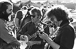 John McEuen, Steve Martin, and Jerry Garcia, Golden Gate Bluegrass Festival, Marin County Civic Center. 4/28/74, 12-22-