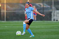 Piscataway, NJ - Wednesday Sept. 07, 2016: Erin Simon during a regular season National Women's Soccer League (NWSL) match between Sky Blue FC and the Orlando Pride FC at Yurcak Field.