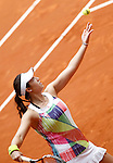 Louisa Chirico, USA, during Madrid Open Tennis 2016 match.May, 5, 2016.(ALTERPHOTOS/Acero)