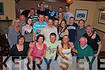 Paul Russell, Ardaneanig, Killarney, pictured with family and friends as he celebrated his 30th birthday in Darby O'Gills on Saturday night........