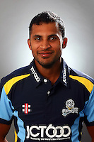 PICTURE BY VAUGHN RIDLEY/SWPIX.COM - Cricket - County Championship Div 2 - Yorkshire County Cricket Club 2012 Media Day - Headingley, Leeds, England - 29/03/12 - Yorkshire's Adil Rashid.