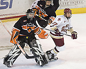 Eric Leroux (Sebastian Borza) Andrew Orpik - Boston College defeated Princeton University 5-1 on Saturday, December 31, 2005 at Magness Arena in Denver, Colorado to win the Denver Cup.  It was the first meeting between the two teams since the Hockey East conference began play.